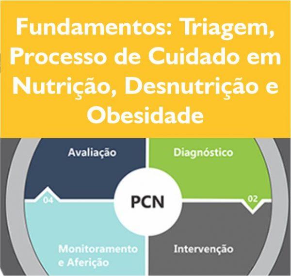 Fundamentos triagem processo de cuidado em nutrição, desnutrição e obesidade
