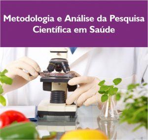 Metodologia e analise da pesquisa em saúde
