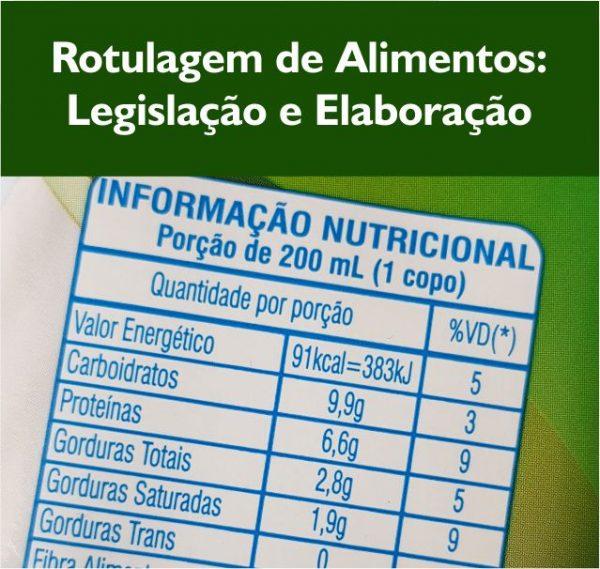 Rotulagem de alimentos e legislação e elaboração